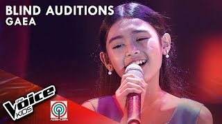 Ngayon at Kailanman by Gaea Salipot | The Voice Kids Philippines Blind Auditions 2019