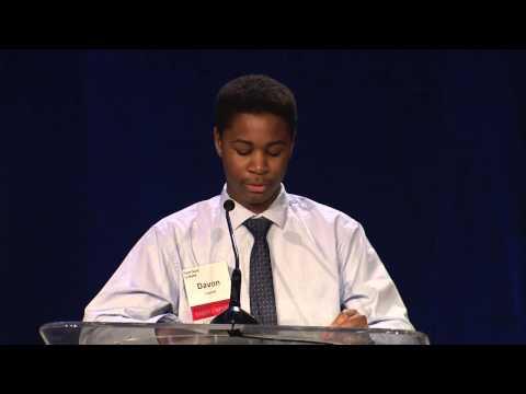 Davon's Remarks - 2016 Amara Luncheon