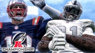AFC CHAMPIONSHIP vs MVP TOM BRADY! Madden 18 Career Mode Gameplay Ep. 20