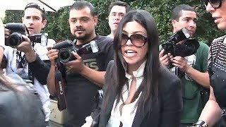 Watch As Kourtney Kardashian Completely LOSES IT On Photographers! [2010]