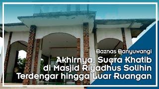 Baznas Bantu Masjid Kesilir