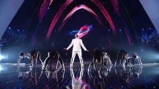 """Chris Brown Performs """"Cotton Eye Joe"""" At BET Awards 2016"""