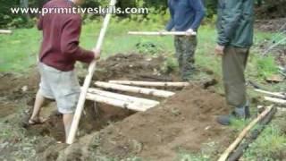 Survival Shelter- Basic Scout Pit