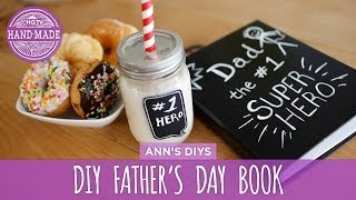 DIY Father's Day Book & Mason Jar - HGTV Handmade