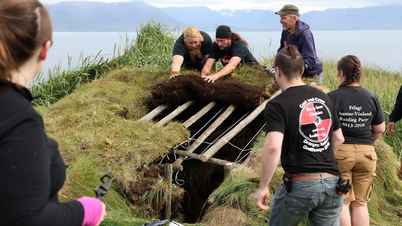Hurstwic: Building a Viking-age Turf House