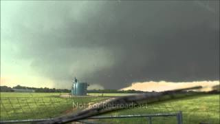 Violent EF5 Moore Oklahoma Wedge Tornado Birth to Finish May 20, 2013