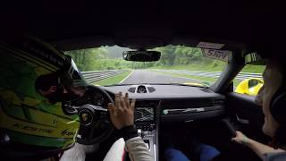 Incredible Kevin Estre lap of the Nürburgring in the new Porsche 911 GT3 RS