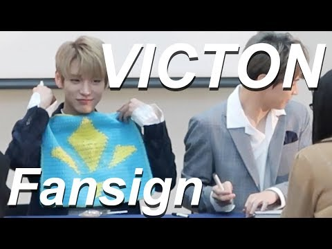 VICTON FANSIGN EXPERIENCE #7 (GIVING VICTON A GIFT FROM A SUBSCRIBER)