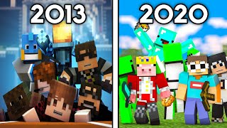 Minecraft's History on YouTube