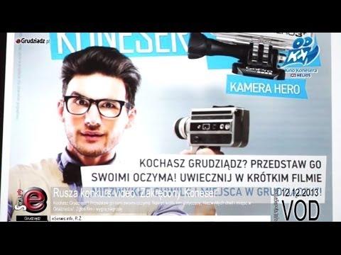 """Rusza konkurs video, zarejestruj """"Niezwykłe chwile i miejsca w Grudziądzu"""""""