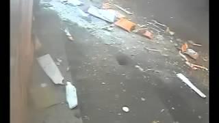 Видео теракта в волонтерском центре в Одессе