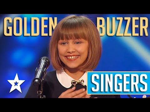Golden Buzzer SINGERS On America's Got Talent 2016 | Grace Vanderwaal Sal Valentinetti & More