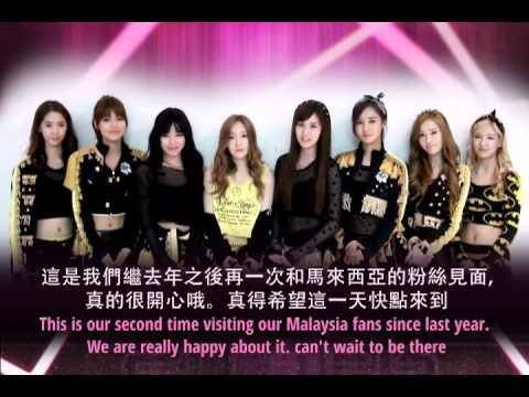 2013 Asia Super Showcase in Malaysia - Girls' Generation