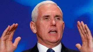 A day in the life of Vice President Mike Pence