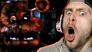FREDDY IS LURKING THE HALLS | Five Nights at Freddy's Reborn Gameplay! #2