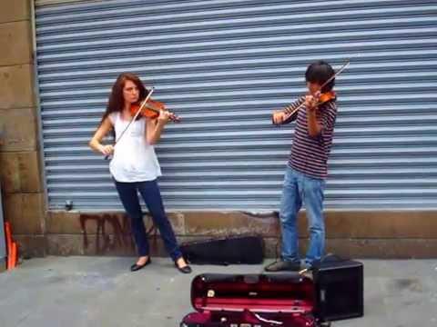 Hermosa melodía de violín (Ciudad de México)