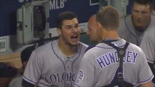 MLB Teammate Fights