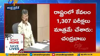 Chandrababu criticizes CM Jagan comments on coronavirus..