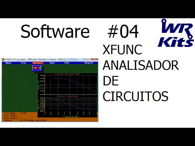 XFUNC | ANALISADOR DE CIRCUITOS | Software #04