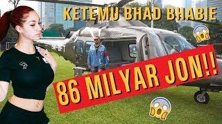 PAKE HELICOPTER 86 M, KETEMU BHAD BHABIE JON!! #ROYALTRIP