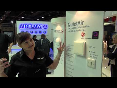 Airflow Ventilation Product - The QuietAir fan