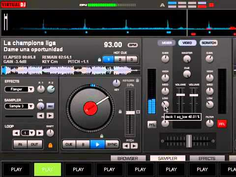 Enganchados de cumbia. Virtual DJ -leo mp3
