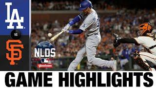 Dodgers vs. Giants NLDS Game 2 Highlights (10/9/21) | MLB Highlights