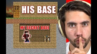 How Long Can I Live In Someone's Base Before They Notice?   Minecraft Home Invasion E1