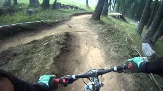 Vtt downhill descente