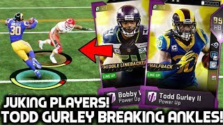 TODD GURLEY BREAKING ANKLES! COMES DOWN TO THE LAST PLAY! Madden 19 Ultimate Team