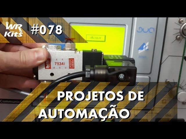 ELETRO VÁLVULA COM CLP ALTUS DUO | Projetos de Automação #078