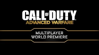 Call of Duty: Advanced Warfare - Multiplayer Global Reveal Event
