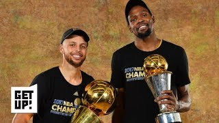 Kevin Durant can't surpass Steph Curry if he stays with the Warriors – Stan Van Gundy | Get Up!