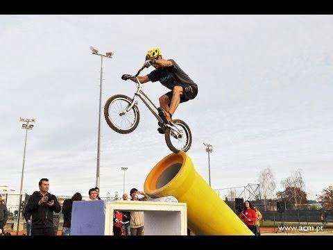 Benito Ros na inauguração do Parque de Trial Bike de Felgueiras (www.jornalaberto.com)
