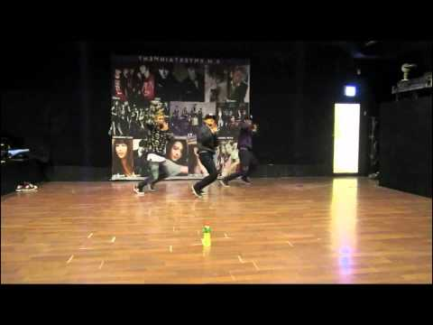 Kai (EXO), TaeMin (SHINee), EunHyuk (Super Junior) - Gayo Daejun dance [dance practice] MIRROR