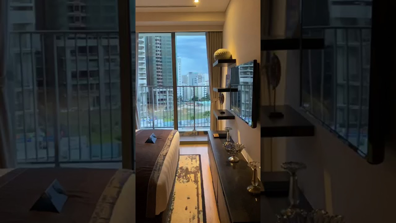 Thanh lý gấp căn hộ 1PN view biển Mỹ Khê 56m2 full nội thất 5*. Soleil Đà Nẵng, giá chỉ 1,6 tỷ video