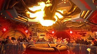 [4K - Low Light ] Armageddon Ride 2019 - Walt Disney Studios Park - Disneyland Paris