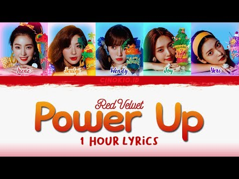 ( 1 HOUR LOOP / 1 HORA / 1 시간 ) Red Velvet 레드벨벳 'Power Up' COLOR CODED LYRICS (Han/Rom/Eng)