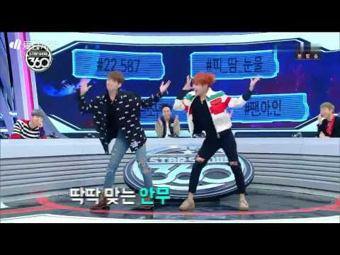 161107 BTS (방탄소년단) Star Show 360 (스타쇼360) JungKook & J-hope Dancing Song Red Velvet and I.O.I very