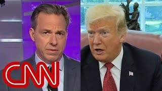 Jake Tapper calls out Trump's 'stunningly dismissive' tone