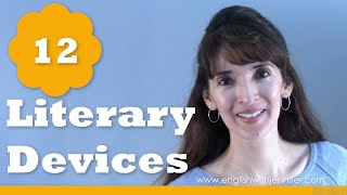 12 Literary Devices You Should Know - English with Jennifer