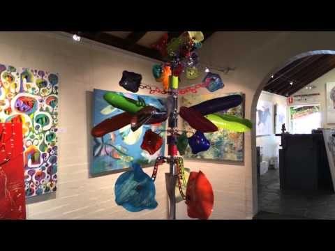Andrew Carson kinetic sculpture