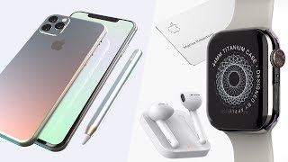 iPhone 11 Pro Max, iPad Pro 2019, Apple Watch Series 5 Leaks!