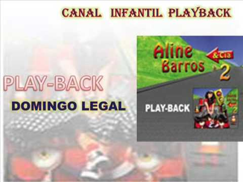 Baixar domingo legal-aline barros e cia 2-playback