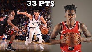 Antonio Blakeney VS Steph Curry EPIC Battle! Warriors vs Bulls!