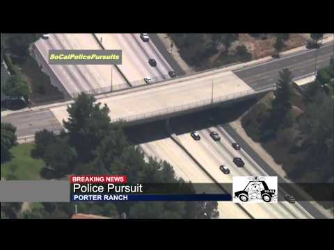 Police pursuit in Southern California