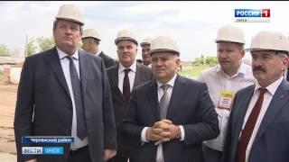 В Омскую область с рабочим визитом прибыл первый заместитель министра сельского хозяйства России