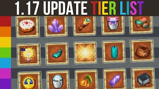 Minecraft 1.17 Update Tier List - All Features Of 1.17 Ranked!