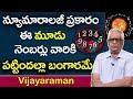 ఈ మూడు నెంబర్లు వారికి పట్టిందల్లా బంగారమే| Numbers Numerology | Astrologer Vijayaraman |TSW
