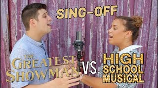 The Greatest Showman vs. High School Musical SING-OFF!